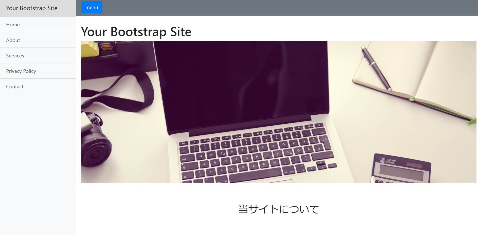 Bootstrap Template5